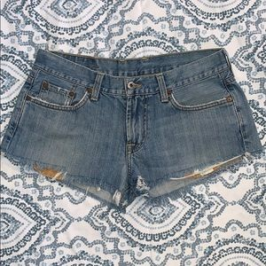 Lucky Brand Jeans cut-off shorts Dungarees 31
